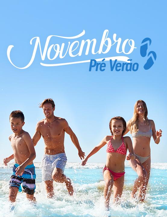Novembro é quase verão
