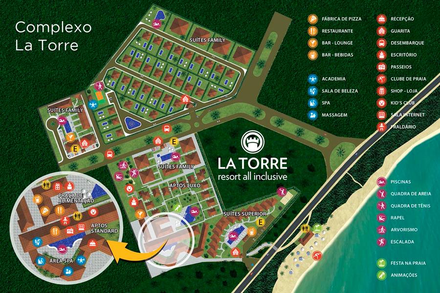 Mapa La Torre