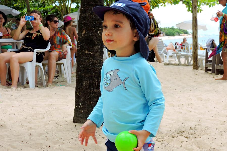 Brincadeiras na Praia